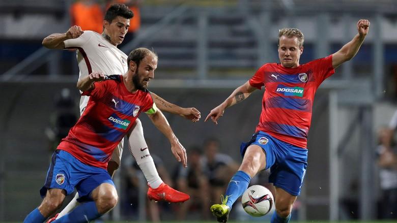 AS Roma Ditahan Imbang Viktoria Plzen 1-1