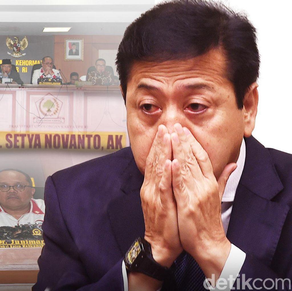 Saat Novanto Didorong Jadi Ketua DPR Lagi, PDIP Dorong Revisi UU MD3