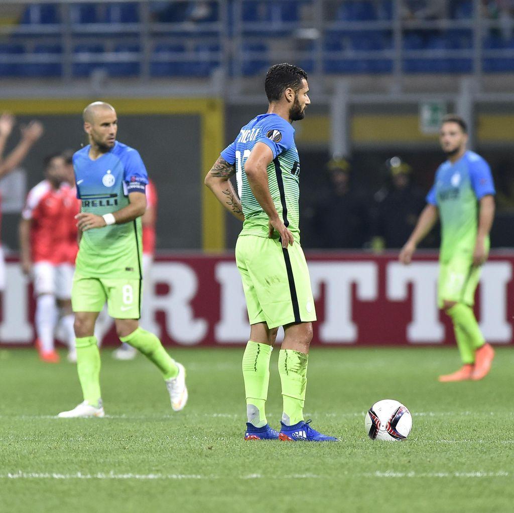 Inter Dikalahkan Klub Israel di Kandang Sendiri