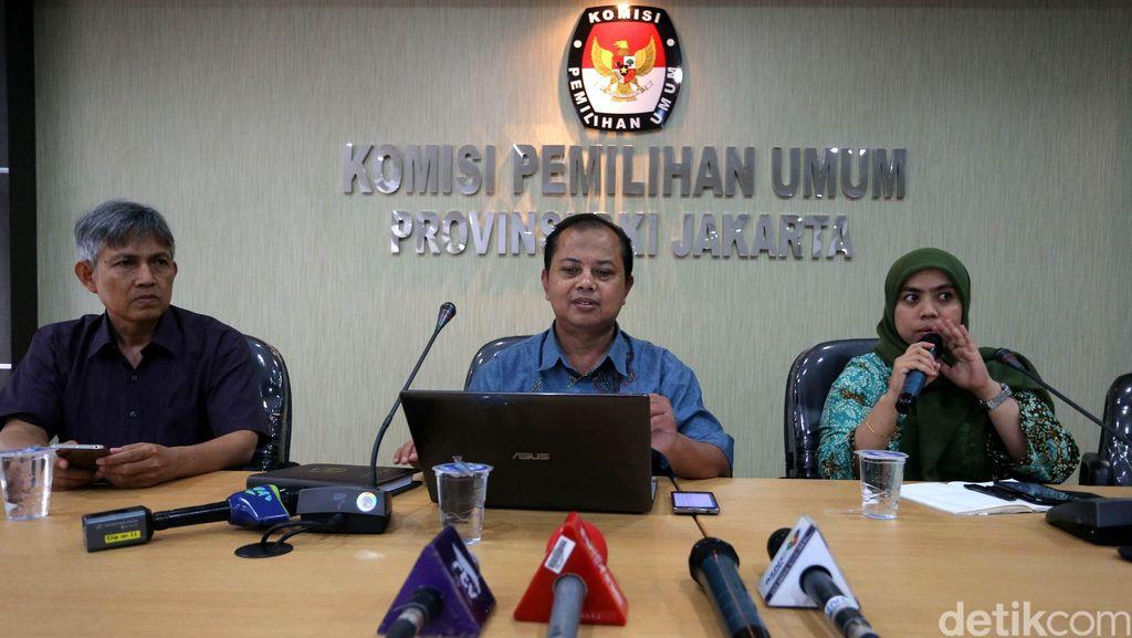 KPU DKI: Susunan Tim Kampanye Cagub Paling Lambat Diserahkan 4 Oktober