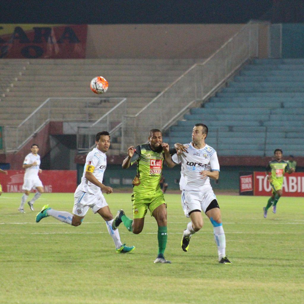 Arema Cronus Curi Kemenangan di Markas Bhayangkara FC