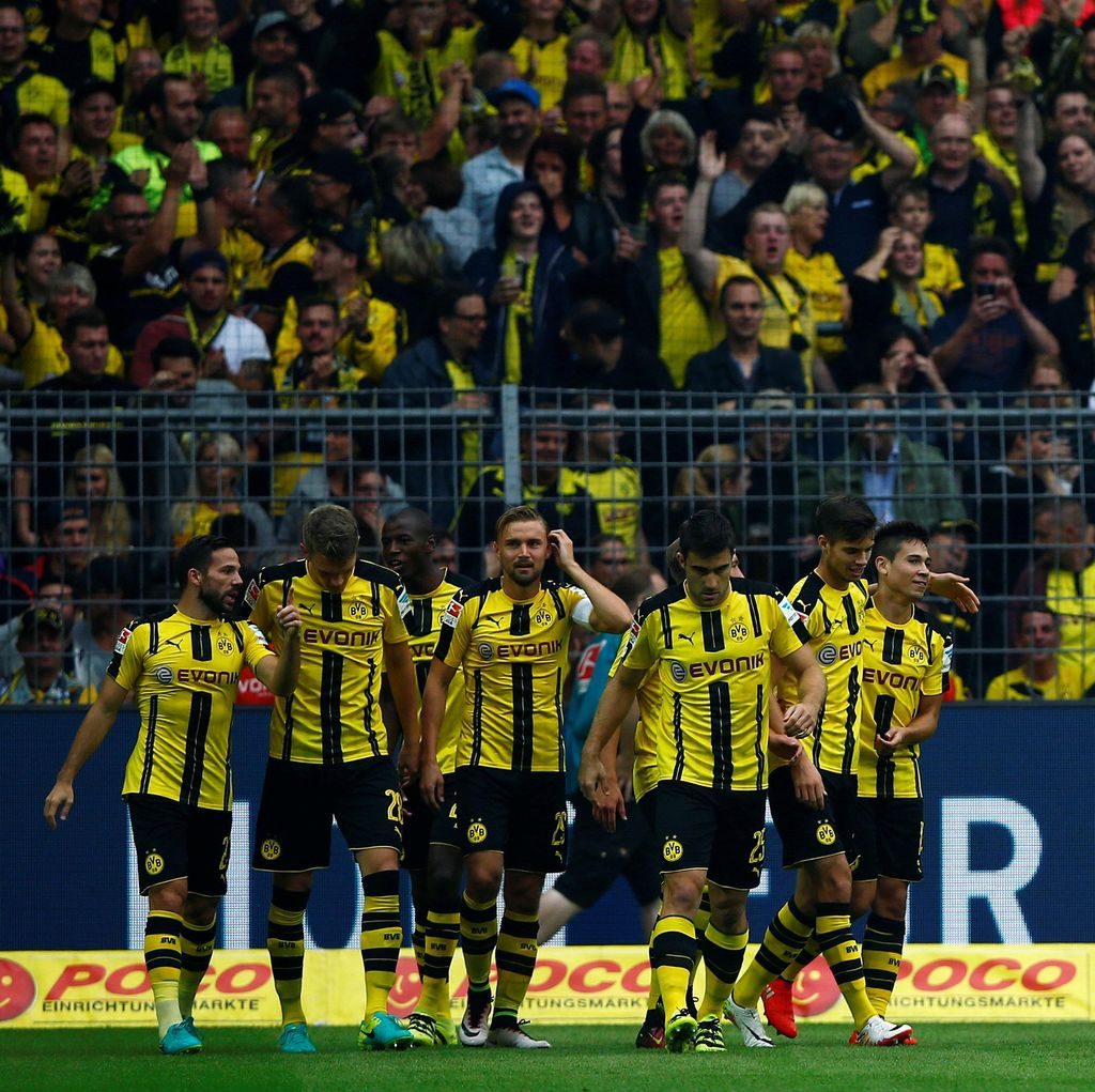Dortmund Pesta Setengah Lusin Gol ke Gawang Darmstadt