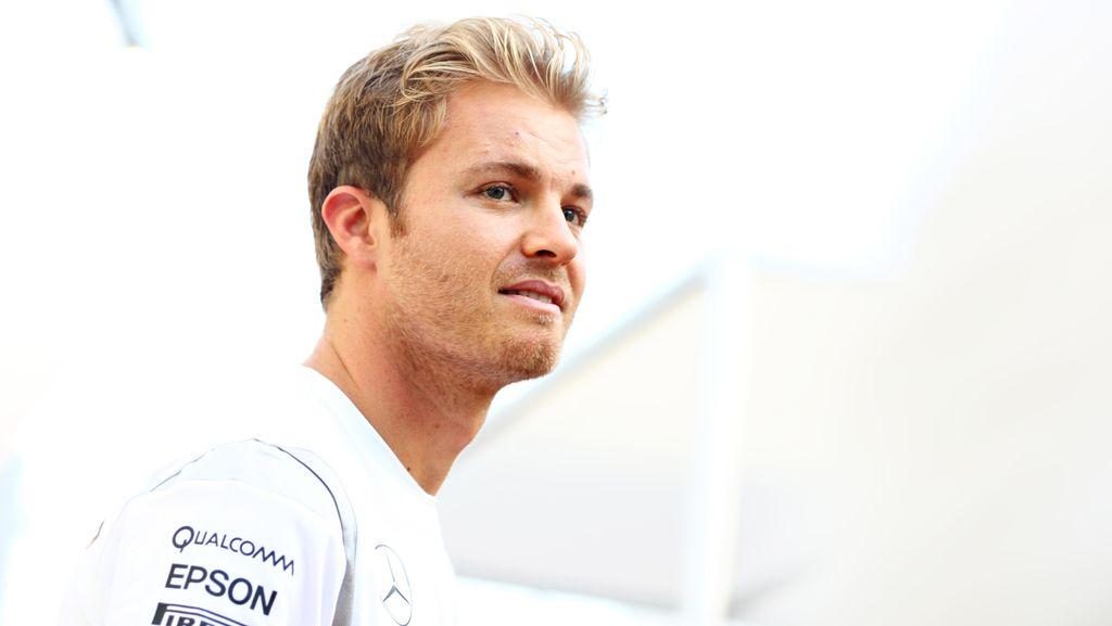 Rosberg Tak Mau Terlena Hasil Latihan Bebas