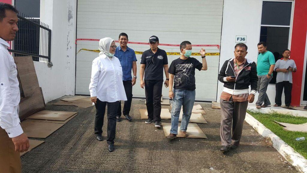 BPOM Cek Gudang Obat Ilegal di Tangerang