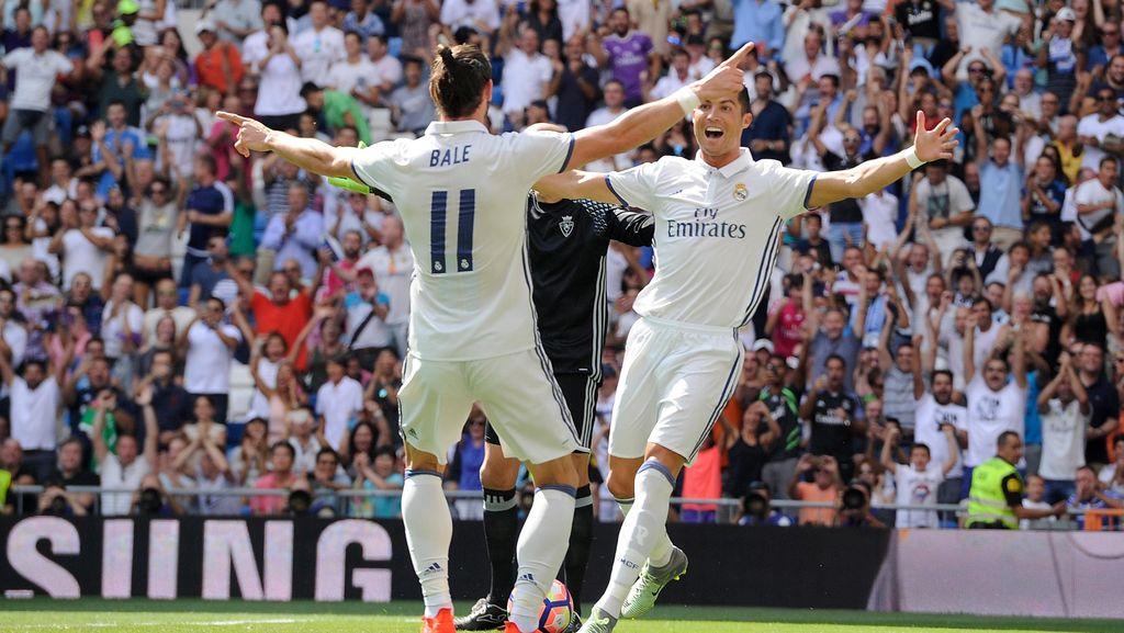 Melawat ke Espanyol, Madrid Tanpa Bale dan Ronaldo