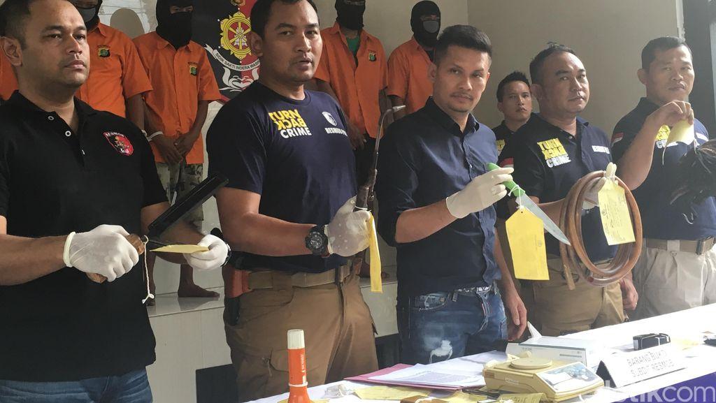 Komplotan Perampok di Perumahan Raffles Hills Bekasi Dibekuk, 2 Pelaku Didor