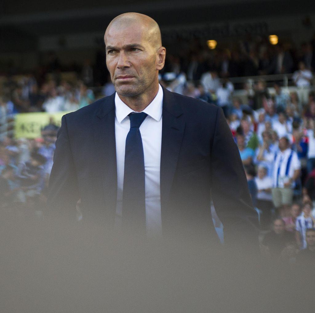 Abaikan Hasil Barca-Atletico, Zidane Cuma Mau Madrid Menang