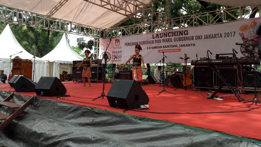 Sosialisasi Pemilu ke Masyarakat, KPU DKI Gelar Launching Pilgub DKI Jakarta