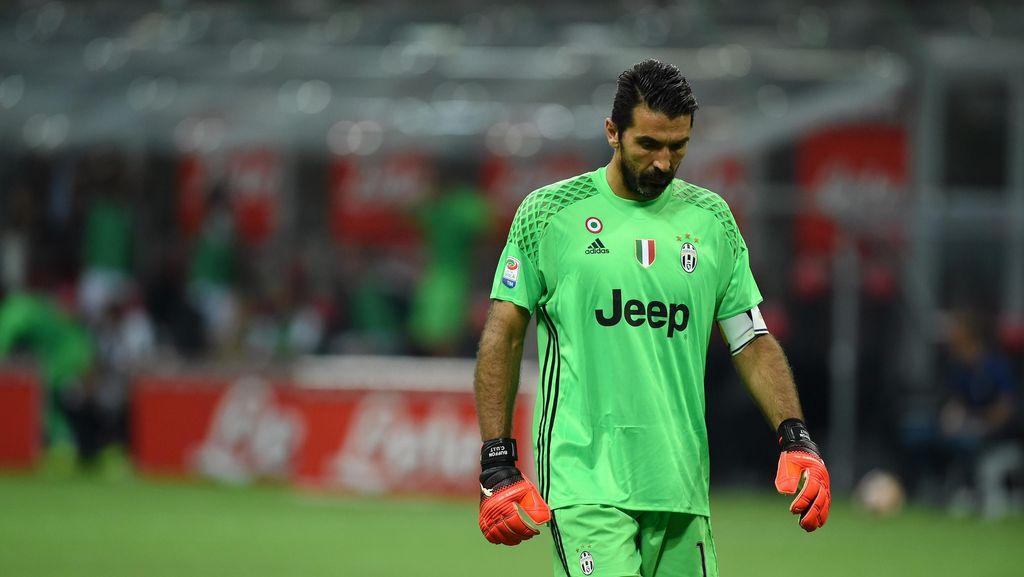 Buffon Tunggu Efek Positif di Balik Kekalahan dari Inter