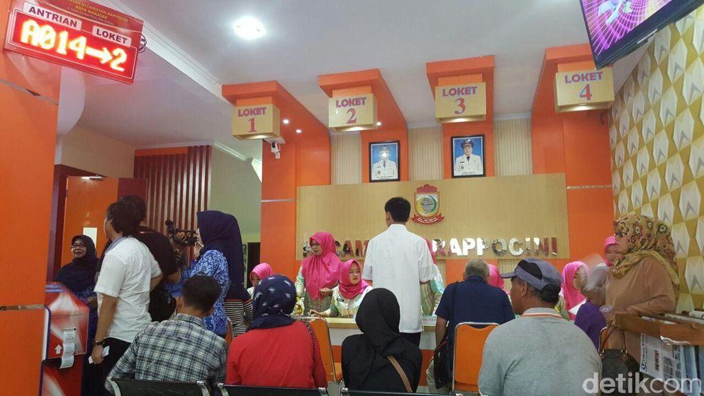 Inovasi Kecamatan di Makassar: Pelayanan Mirip Bank, Miliki War Room