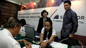 Aneka Gas Industri Tawarkan Saham