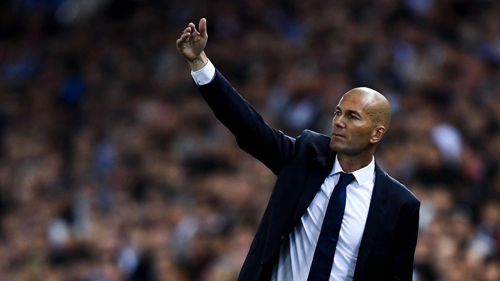Zidane Instruksikan Madrid Tancap Gas Sejak Menit Pertama