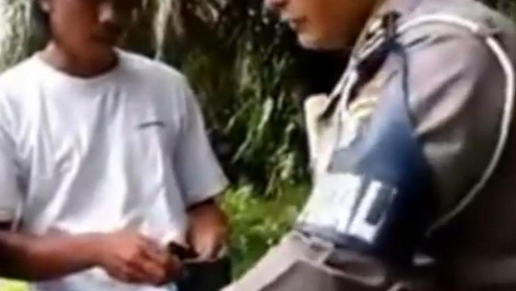 Polantas di Sumut yang Minta Uang ke Pengendara Bertugas di Polres Labuhanbatu
