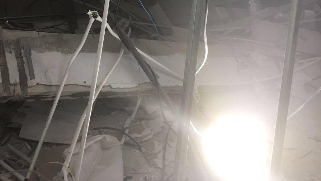 PT AP II: Tak Ada Atap T3 Bandara Cengkareng yang Runtuh, yang Ada Plafon Jatuh