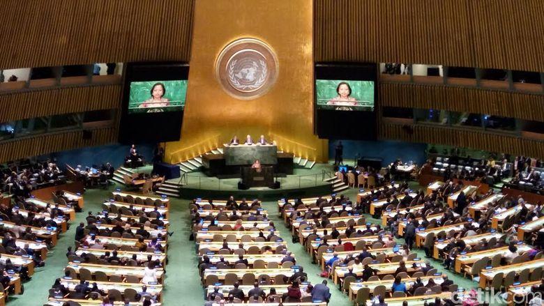 Cerita Eni Lestari Tentang Nasib yang Mengharukan di Hadapan Sidang PBB