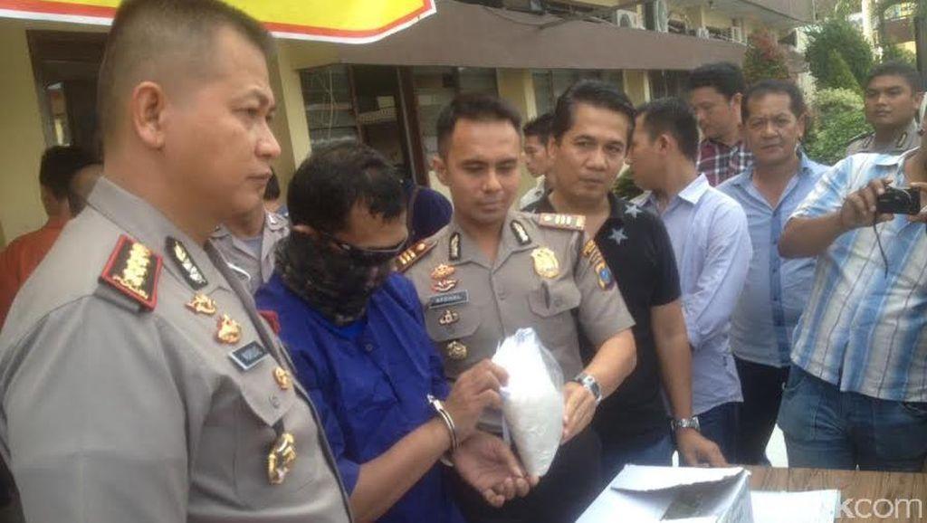 Selundupkan 1 Kg Sabu di Bika Ambon, Kurir Narkoba di Medan Dibekuk