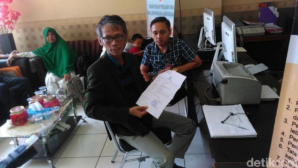 Diintimidasi Preman Akibat Pemberitaan PON, Wartawan di Bandung Lapor Polisi