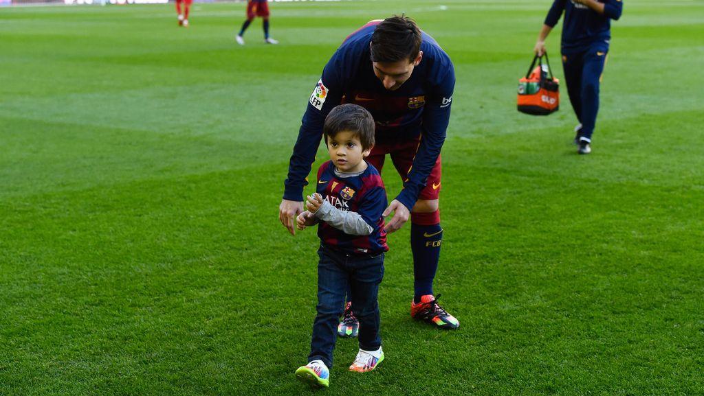 Thiago Messi, Benjamin Suarez, dan Milan Pique Masuk Akademi Barcelona
