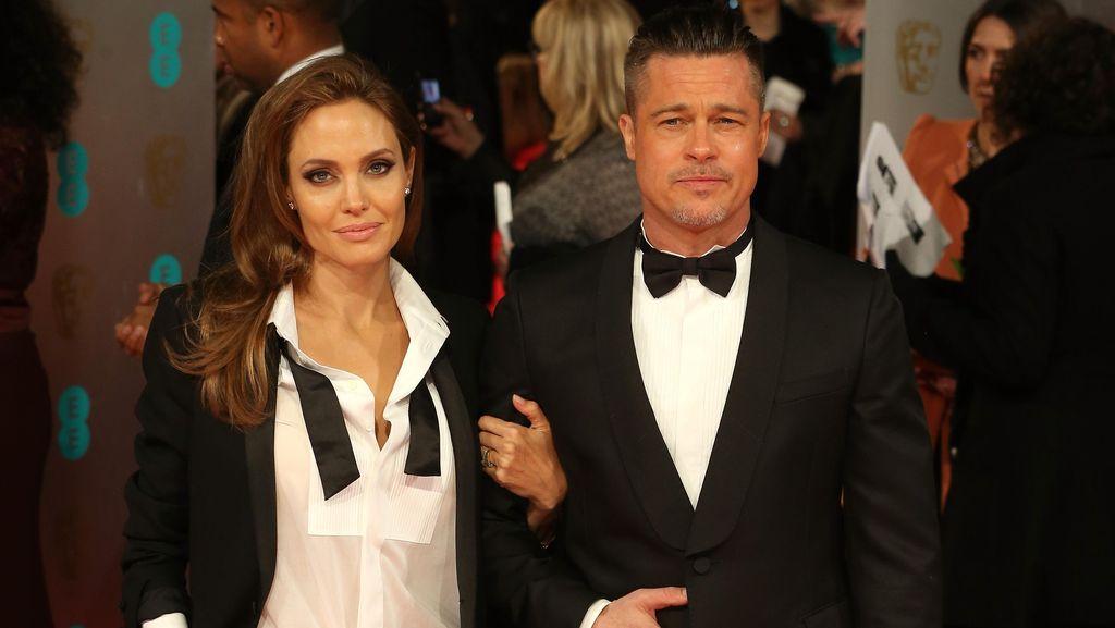 Sudah Berhari-hari Brad Pitt Tak Bertemu Anak-anaknya