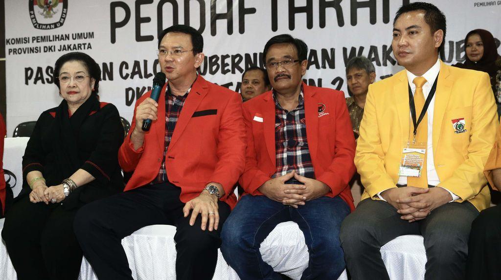 Ahok: PDIP Tak Beri Uang untuk Pilgub DKI, Saya Juga Tidak