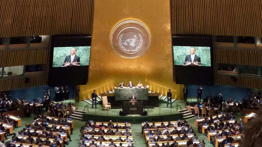 Pidato di Sidang Umum PBB, Obama Sebut Indonesia Sukses Berdemokrasi