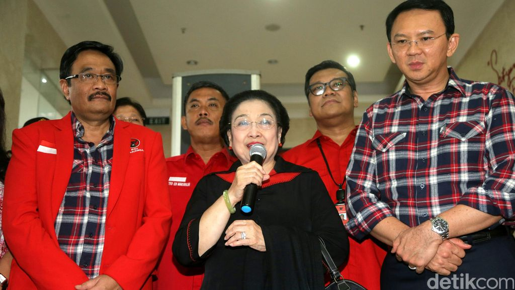 Filosofi Kemeja Kotak-kotak Ahok-Djarot: Untuk Tuntaskan Program Jokowi