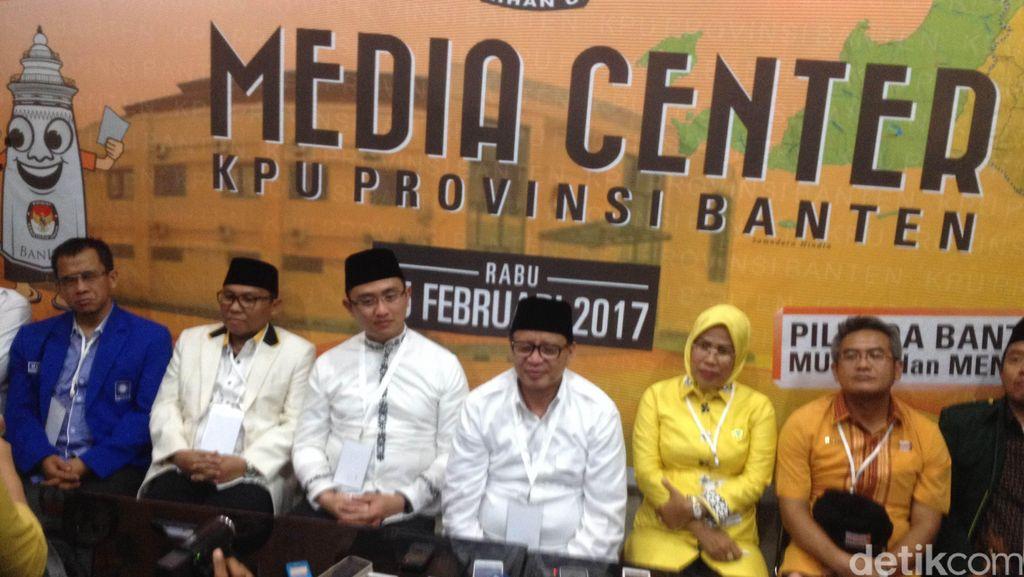 Wahidin-Andika Mengaku Optimis di Pilgub Banten
