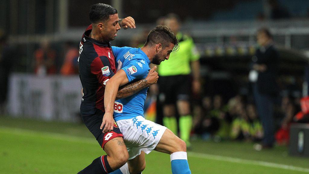 Napoli Seri Tanpa Gol di Markas Genoa