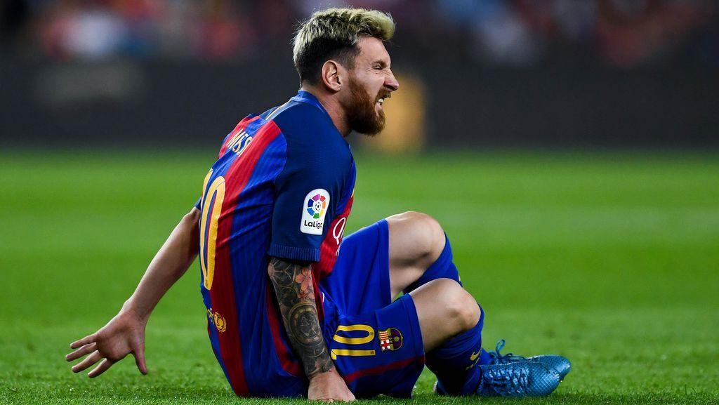 Gagal Berhadapan dengan Messi, Moenchengladbach Kecewa dan Doakan Kesembuhan