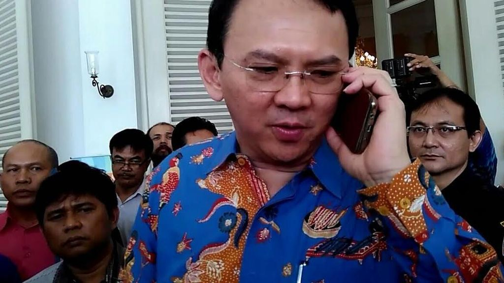 Ahok Hadiri Sidang Gugatan UU Pilkada di MK