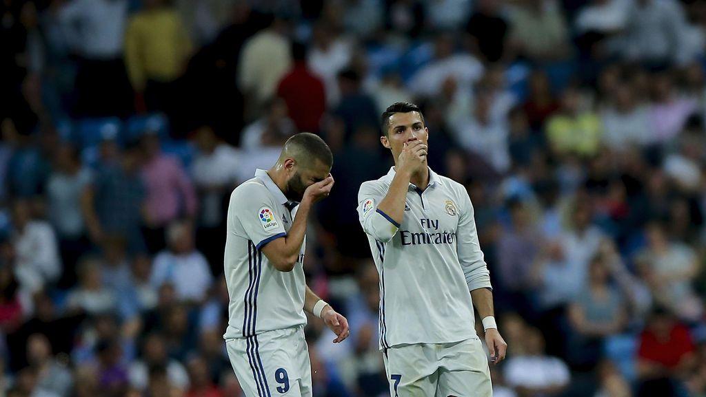 Ronaldo Gagal Bikin Gol, Zidane Tak Khawatir