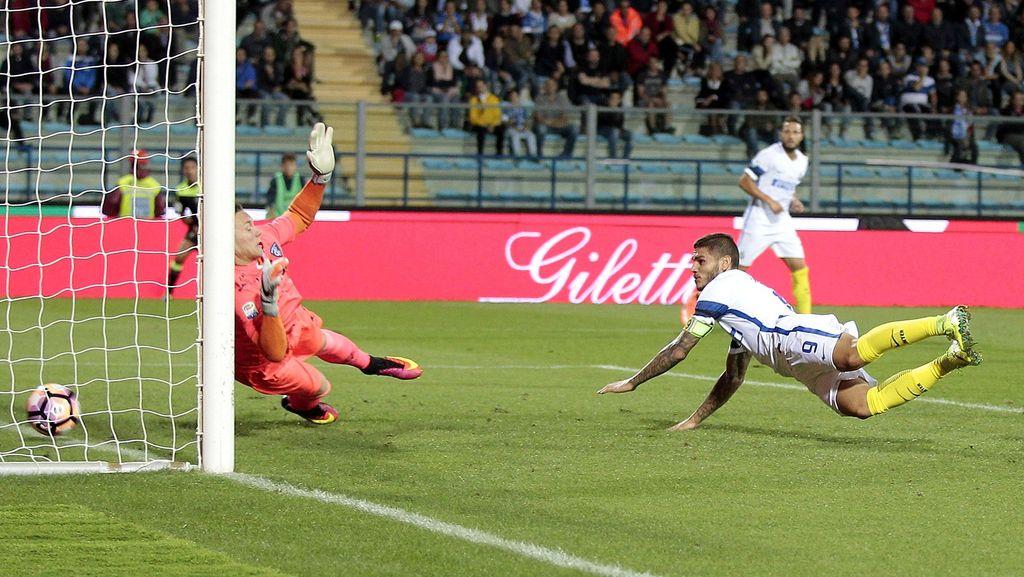 Dua Gol Icardi Menangkan Inter