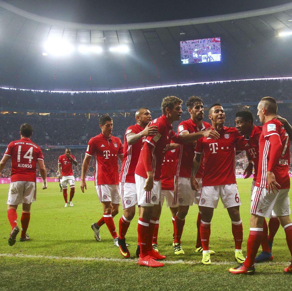 Bayern Benamkan Hertha 3-0