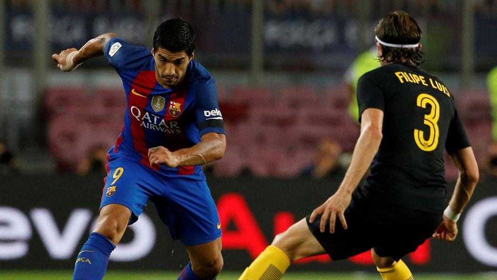 Saling Sindir Filipe Luis dan Suarez Usai Barca vs Atletico