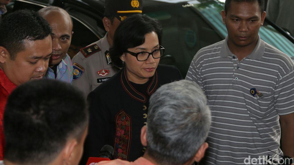 Sri Mulyani Datangi KPK, Lapor LHKPN dan Serah Terimakan Gedung Lama