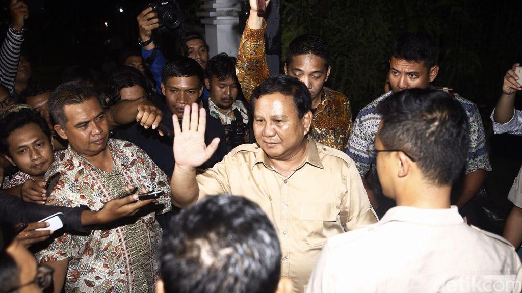 Prabowo Segera Umumkan Cagub-Cawagub Gerindra-PKS