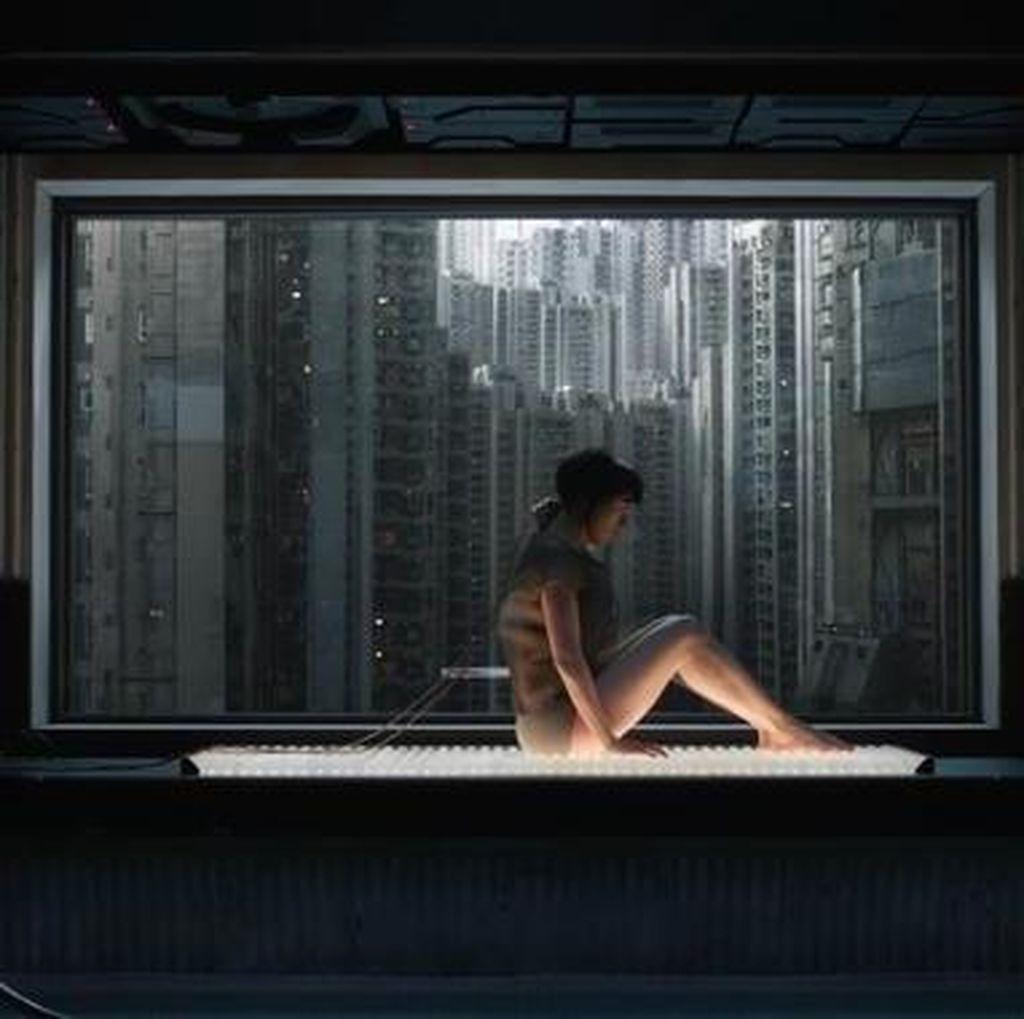 Scarlett Johansson Jadi Cyborg di Ghost in the Shell