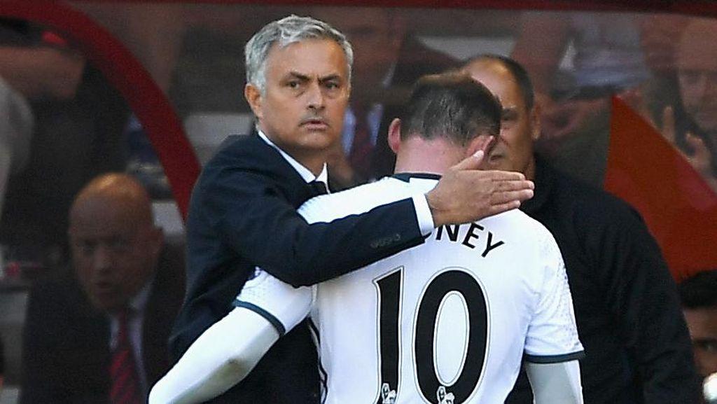 Rooney Yakin Mourinho Akan Bawa MU Bangkit dan Kembali ke Jalur Penantang