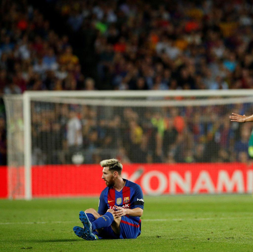 Messi Cedera, Pelatih Timnas Argentina Kritik Barca