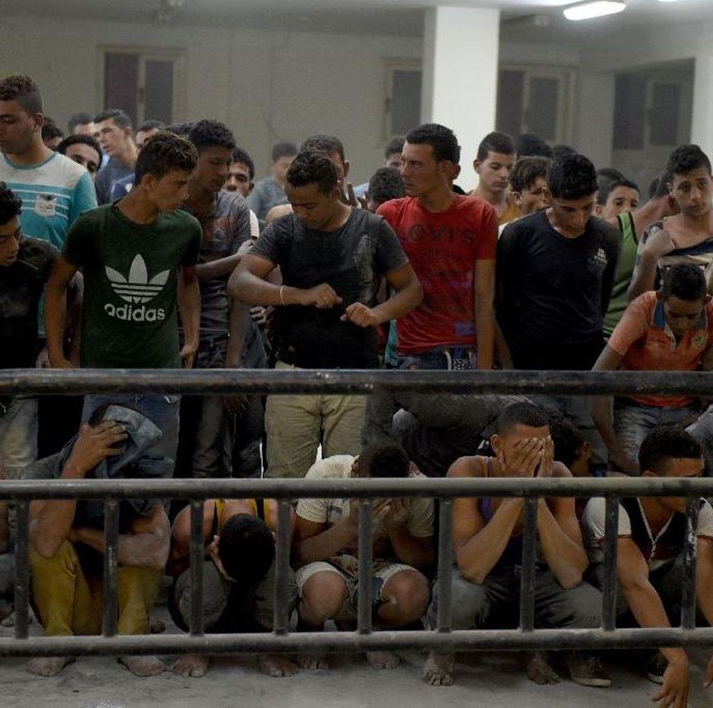 Kapal Pengangkut Imigran Terbalik di Lepas Pantai Mesir, 52 Orang Tewas