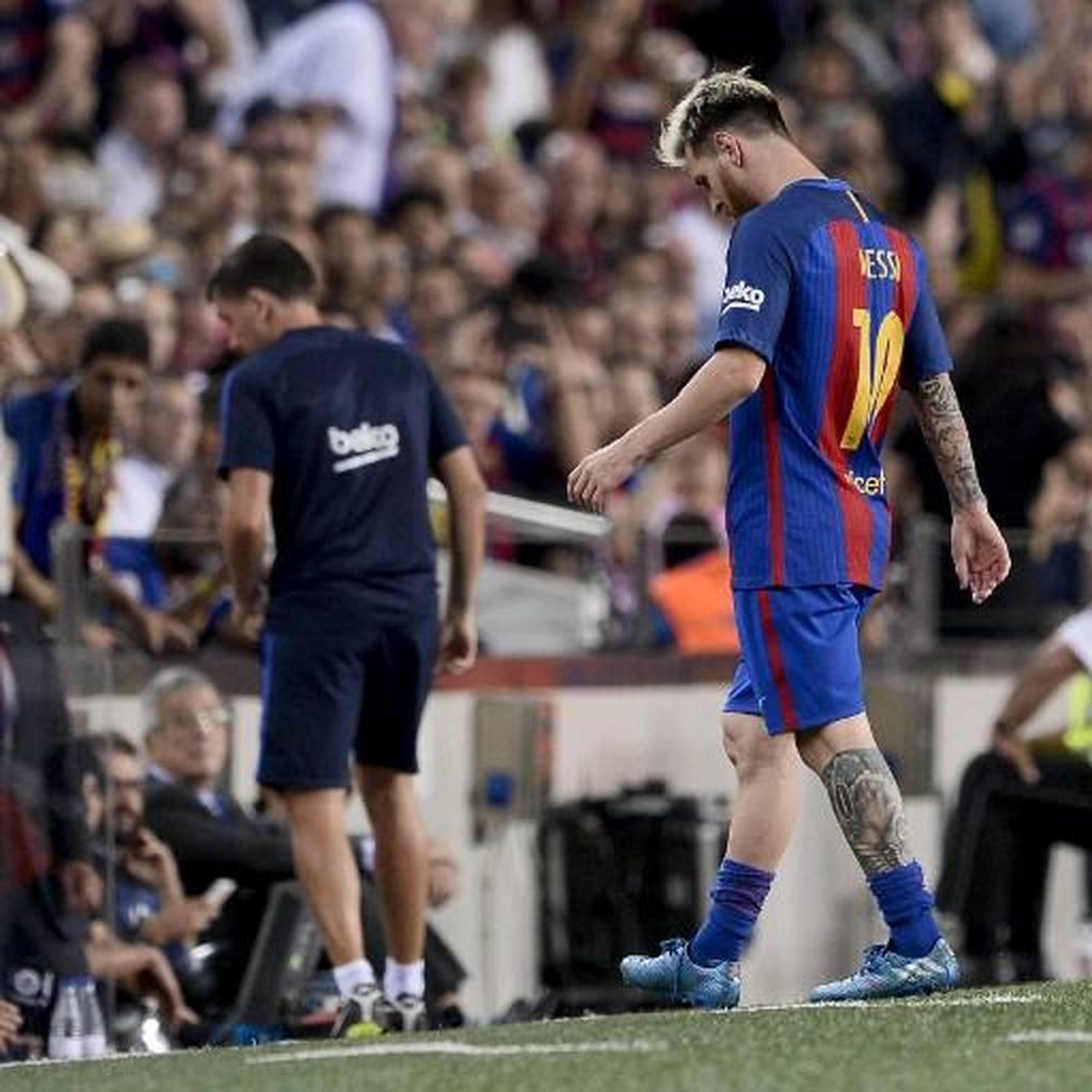 Zidane: Tanpa Messi, Barca Melemah