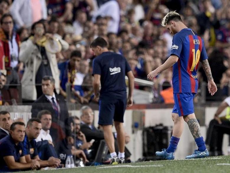 Kekuatan Barcelona Menurun Tanpa Messi
