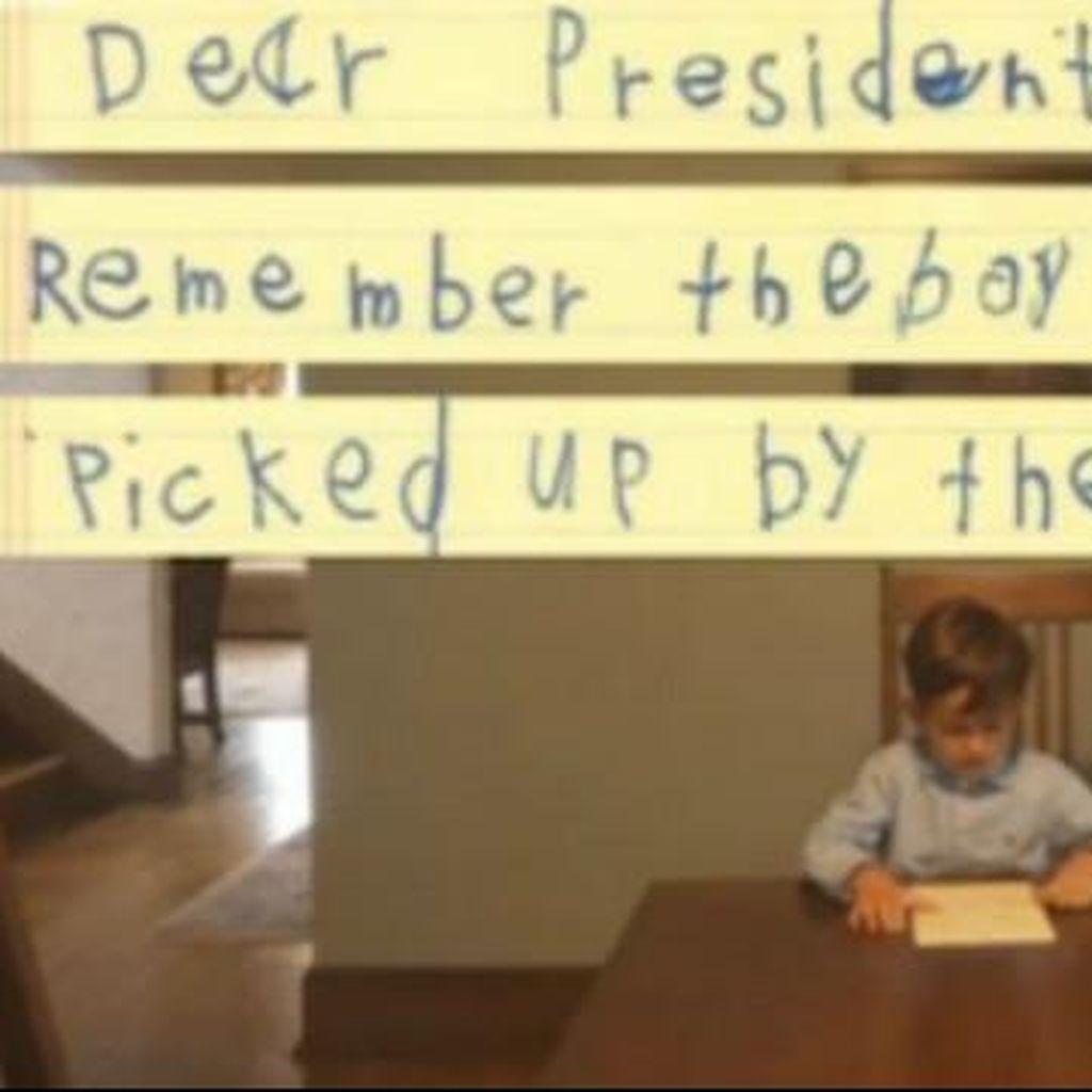 Anak AS ini Tulis Surat ke Obama Tawarkan Rumahnya untuk Anak Suriah