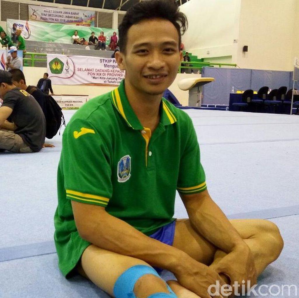 Agus Adi Prayoko Menahan Sakit untuk Meraih Medali Emas