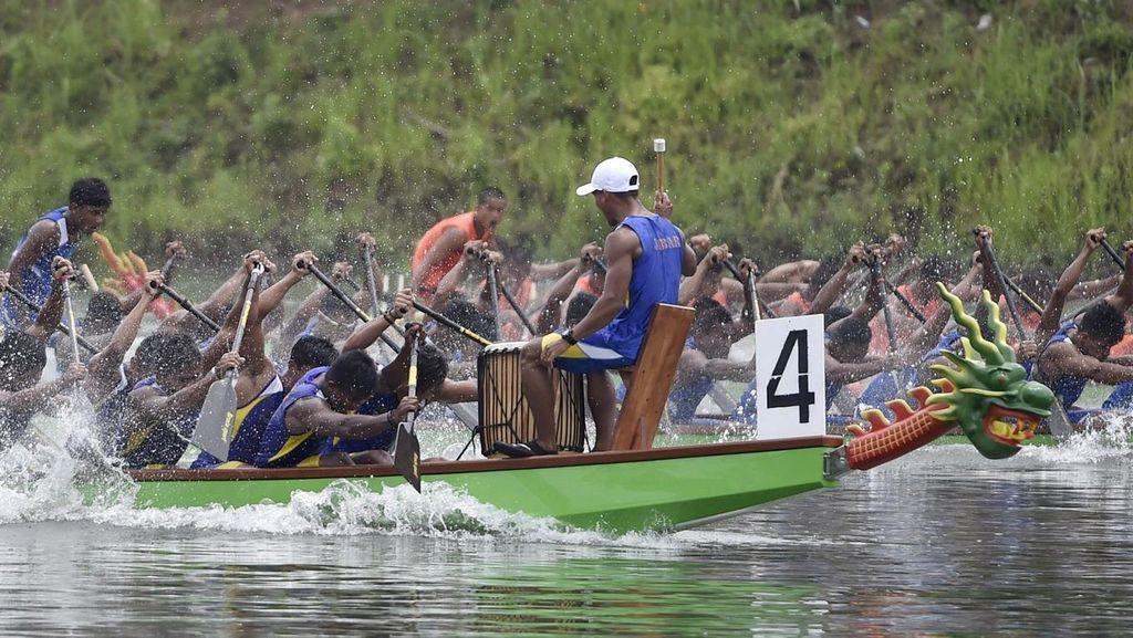 Jabar Rebut 3 Emas Dari Perahu Naga