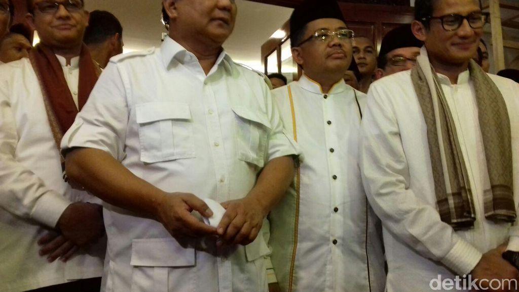 Prabowo Bakal Turun Langsung Jadi Juru Kampanye Anies-Sandiaga