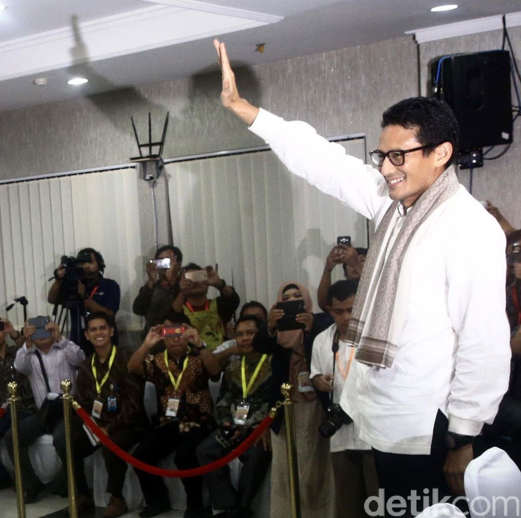Sandiaga: Roemah Joeang untuk Tampung Aspirasi Masyarakat Jakarta