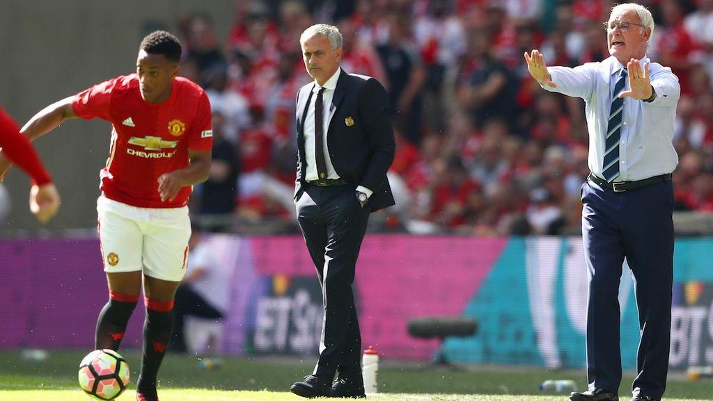 Mourinho Sedang Rentan Kalah, Ranieri Sulit Kalah dari Mourinho