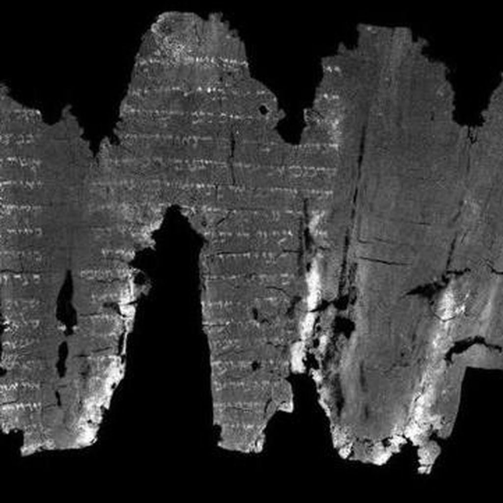 Naskah Gulungan Ibrani dari Abad Ketiga ini Bisa Dibaca dengan Sinar X