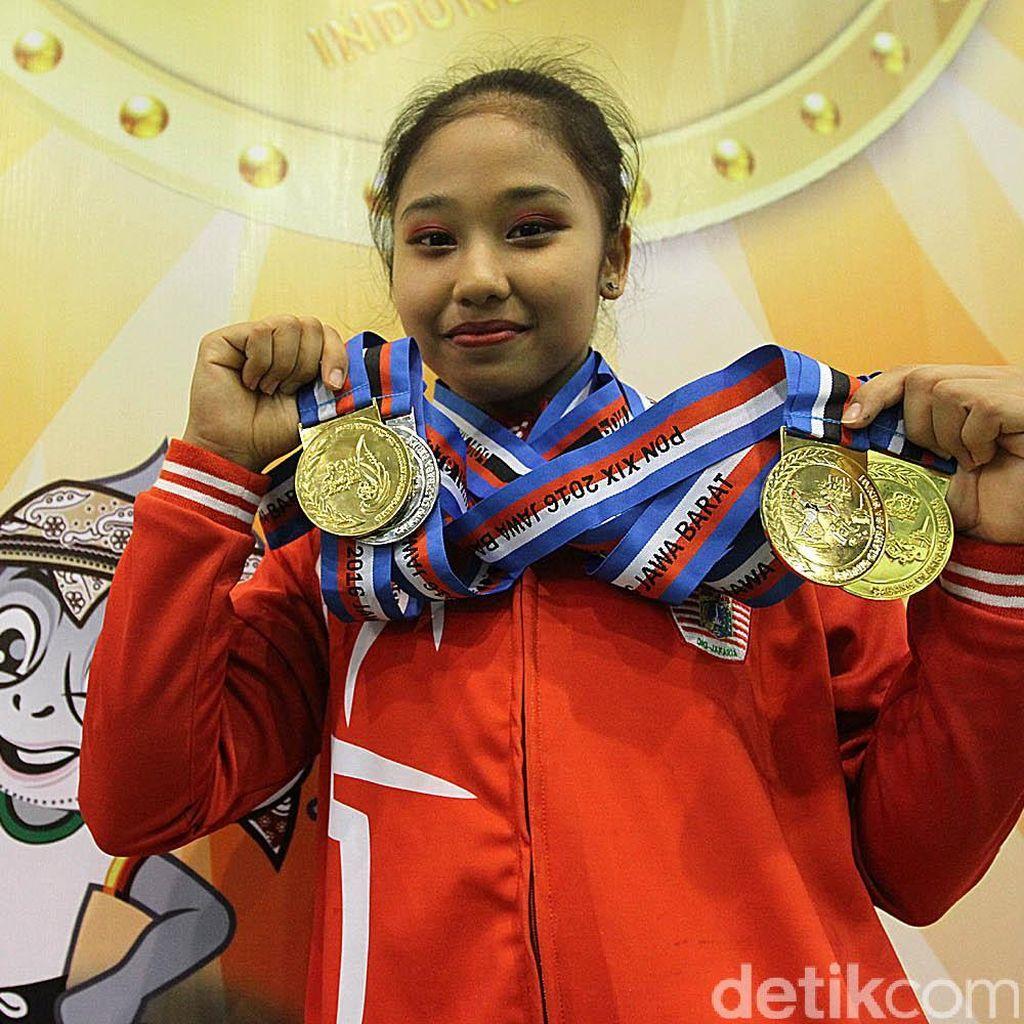 Usai Tiga Emas di PON, Rifda Irfanalutfi Bidik Emas SEA Games Tahun Depan